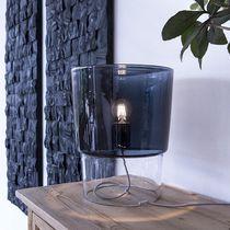 Lámpara de mesa / moderna / de vidrio soplado / de interior