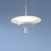 Lámpara suspendida / moderna / de metal / de vidrio