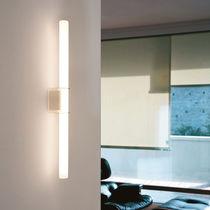 Aplique moderno / de vidrio / LED / lineal