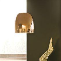 Lámpara suspendida / moderna / de metal cromado / de vidrio