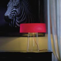 Lámpara de mesa / moderna / de vidrio soplado / de cristal
