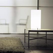 Lámpara de mesa / clásica / de vidrio / de interior