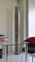 Radiador de agua caliente / de acero inoxidable / moderno / vertical