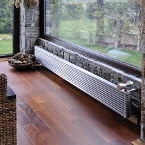Radiador de agua caliente / de acero inoxidable / moderno / horizontal