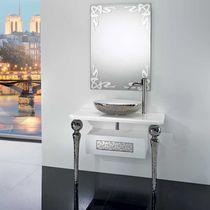 Mueble de lavabo de pie / de cerámica / de estilo