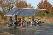 Cobertura para bicicletas y motos para espacios públicos