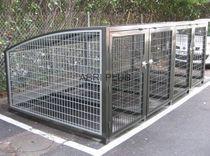 Cobertizo para bicicletas seguro