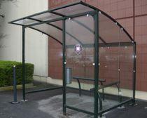 Cubierta para zonas de fumadores para espacio público