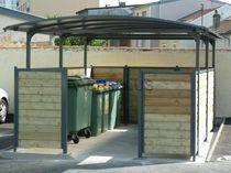 Cobertura para contenedores de reciclaje