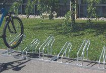 Aparcabicis de acero galvanizado