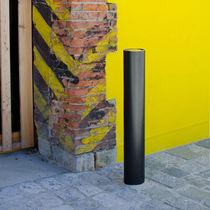 Cenicero pie bancada / de acero inoxidable / para exterior / para espacio público