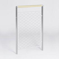 Barrera de protección / fija / de metal / urbana