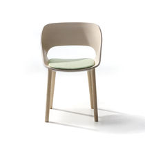 Silla moderna / de fresno / contract
