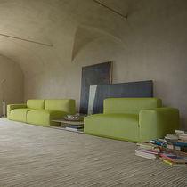 Sofá de esquina / modular / moderno / de poliéster