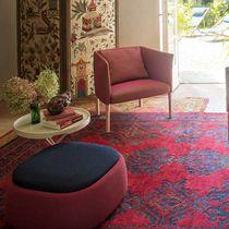 Puf moderno / de tejido / redondo / de jardín
