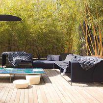 Sofá modular / moderno / de jardín / de tejido