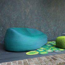 Sofá moderno / de jardín / de tejido / de cuerda