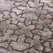 Alfombra moderna / con motivos / de lana / de seda