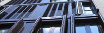 Contraventanas plegables / de aluminio / para ventanas