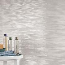 Baldosa de interior / de pared / de gres porcelánico / con ondas
