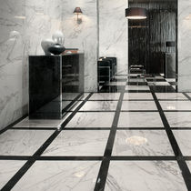 Baldosa de interior / para pavimento / de gres porcelánico / pulida
