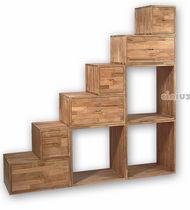 Biblioteca moderna / de madera