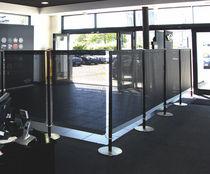 Separador para oficina para suelo / de tejido / modular