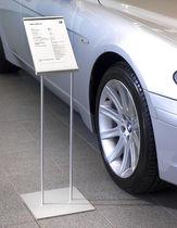 Panel indicador de interior / de aluminio
