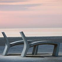 Tumbona moderna / de piedra reconstituida / para espacio público