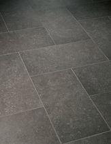 Baldosa para suelo / de gres porcelánico / pulida / aspecto piedra