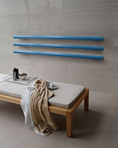Radiador de agua caliente / eléctrico / horizontal / de metal