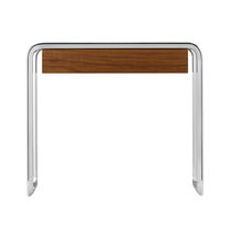 Mesa de centro moderna / de madera / de metal / rectangular