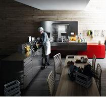 Cocina moderna / de acero