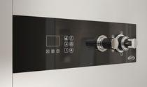 Cabina de ducha de vapor / hidromasaje / de vidrio / para cromoterapia