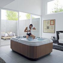 Spa sobre suelo / rectangular / 3 plazas / de interior