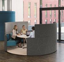 Separador para oficina para suelo / de tejido