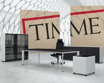 Armario de oficina bajo / alto / de madera / de aluminio