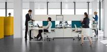 Sillón de oficina moderno / de tejido / de polipropileno / de malla