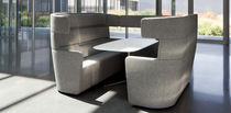 Sofá modular / moderno / de tejido / para edificio público