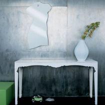 Espejo de pared / moderno / de acero inoxidable