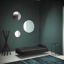 Espejo de pared / moderno / redondo / de metal