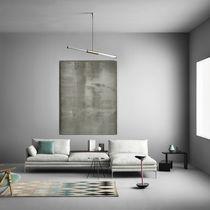 Sofá modular / moderno / de tejido / de cuero