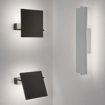 Aplique moderno / de metal / LED / rectangular