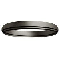 Plafón moderno / redondo / de aluminio / LED