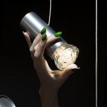 Lámpara araña moderna / de aluminio / LED