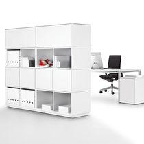 Biblioteca modular / alta / baja / de diseño minimalista