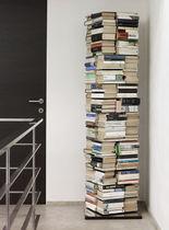 Biblioteca moderna / de acero inoxidable lacado / pivotante