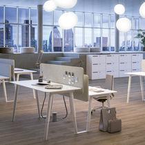 Mesa de trabajo moderna / de roble / de haya / rectangular