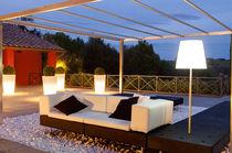 Sofá de esquina / modular / moderno / de jardín