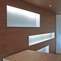 Luminaria fluorescente / lineal / de plástico / IP20